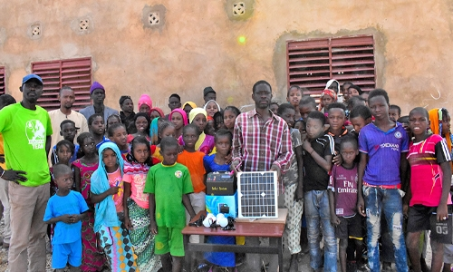 Solar panels for Senegal schools