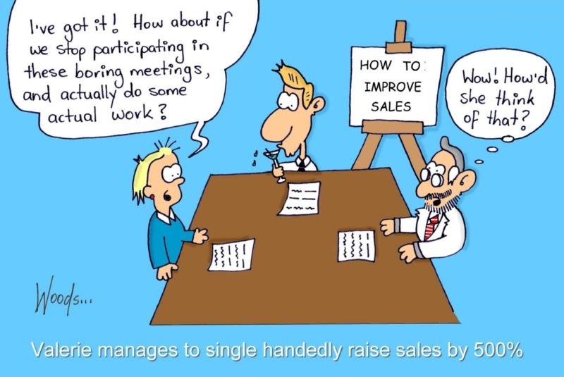 management team cartoon
